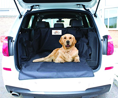 SHINE Car Rear Back Seat Cover Boot Protector Pet Cover Liner Protector Durable- Heavy Duty