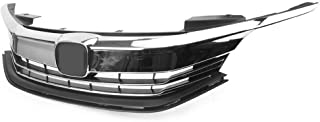 Replacement Grill fit for Honda Accord | 2016 2017 Sedan 4-door | Chrome Factory Style ABS | by AutoModed