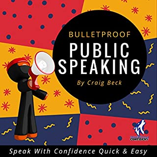 Bulletproof Public Speaking audiobook cover art