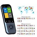 Kacsoo Traduttore di Lingua, Traduttore vocale Supporto Intelligente 138 Lingue, Traduzione...