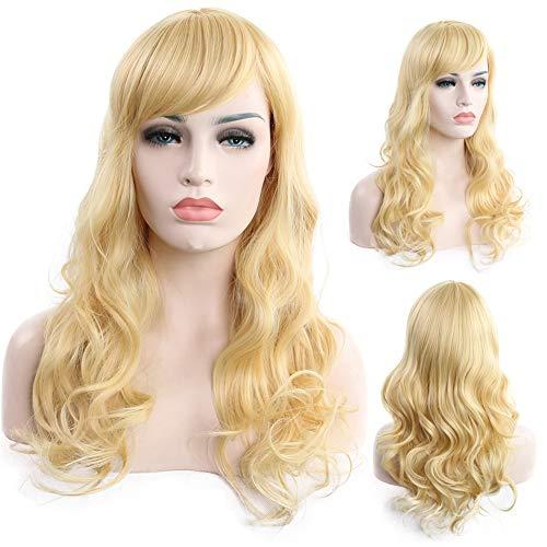 Licy Life-UKPerruque Cheveux Nouveau Féminin Bruns/Or Raides/Bouclés Ondulés Glamour Perruque Cap Perruque Élastique