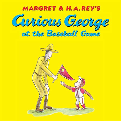 Curious George at the Baseball Game (English Edition)