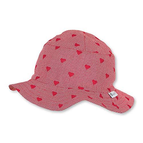 Sterntaler Baby-Mädchen Hut Mütze, Rot (Rot 840), 41