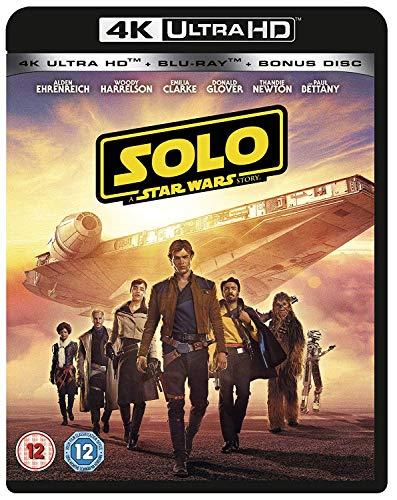 ハン・ソロ/スター・ウォーズ・ストーリー [4K UHD + Blu-ray ※4K UHDのみ日本語有り リージョンフリー](輸入版) -Solo: A Star Wars Story-