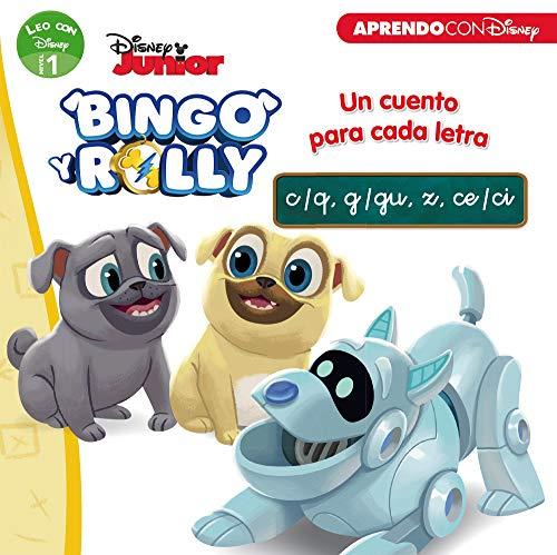 Bingo y Rolly. Un cuento para cada letra: c/q, g/gu, z, ce/ci (Leo con Disney - Nivel 1)