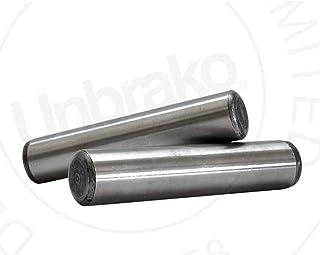 Alloy STL Dowel Pin 1//8x3//8L Pk100