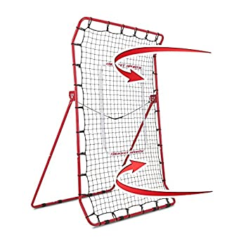 Rukket Pitch Back Baseball/Softball Rebounder PRO | Pitching and Throwing Practice Partner | Adjustable Angle Pitchback Trainer