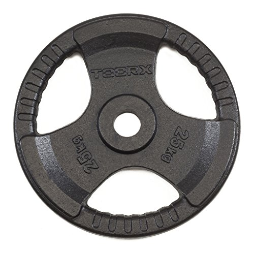 toorx disco ghisa nero kg 25 diam.50 mm