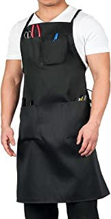 KNG Adult Shop Apron, Black