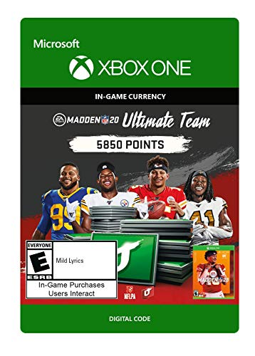 Madden NFL 20: MUT 5850 Madden Points Pack - [Xbox One Digital Code]
