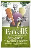 Tyrrell's Chips Légumes Betterave/Panais/CarotteavecPincéedeSel 150 g