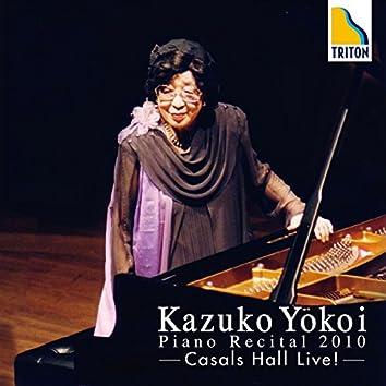 Kazuko Yokoi Piano Recital 2010