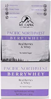 Mt. Capra Since 1928 Pacific Northwest BerryWhey | Non-GMO Meal Replacement Shake High in Antioxidants with Locally Grown ...