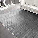 La Alfombra alfombras para dormitorios Alfombra de Rayas Negras Gris Lavado de Agua Suave salón Sucio Alfombra Chimenea Alfombra de Salon 180*250cm
