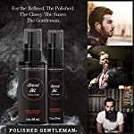 Natural Beard Growth Oil for Men - with Cedarwood & Tea Tree Oil - Easy Beard Dispenser and Pump - Natural Conditioner… 7
