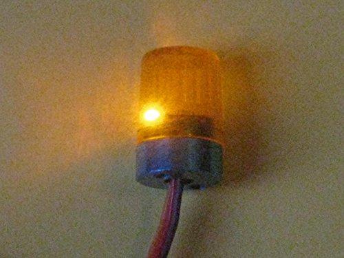 MB_Modellbau Berthold Rundumlicht 4,8-7,2 Volt in Gelb - Rot oder Blau Farbe Wählbar (Rundumlicht Gelb)
