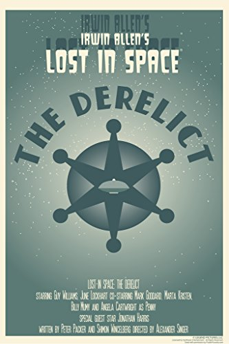 Lost In Space The Derelict by Juan Ortiz Art Print Poster 12x18