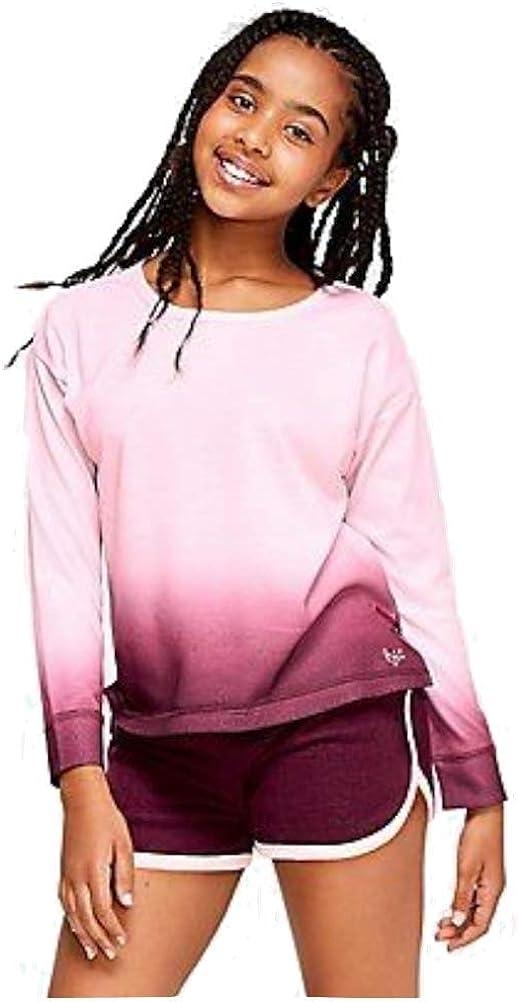 Justice Ombre Keyhole Pajama Top
