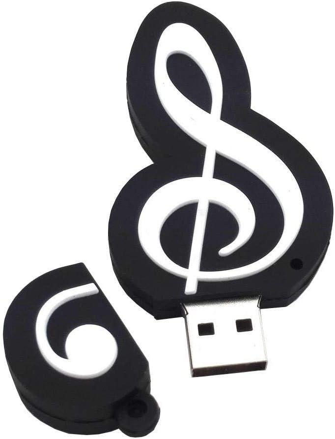 WooTeck 64GB Cartoon Music Note USB Falsh Drive Memory Stick