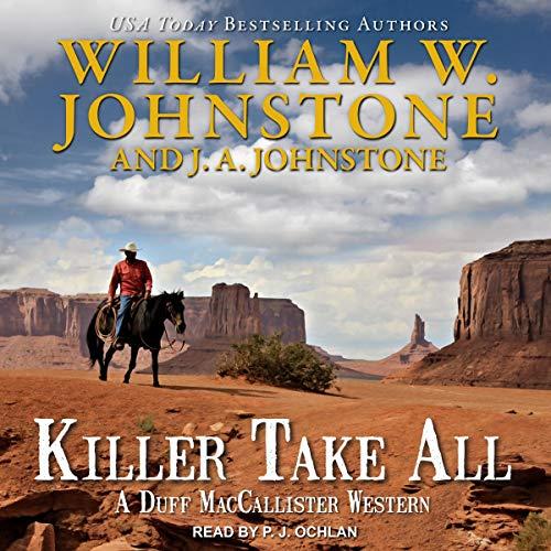 Killer Take All audiobook cover art