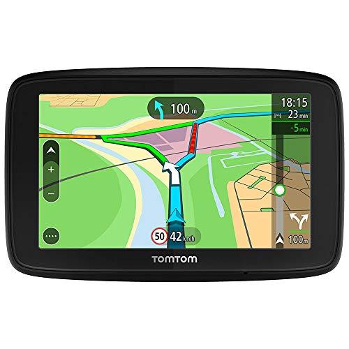 TomTom Navigationsgerät Via 53 (5 Zoll, Stauvermeidung dank TomTom Traffic, Karten-Updates Europa, Updates über Wi-Fi, Smartphone-Benachrichtigungen)
