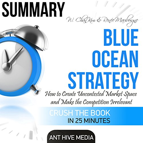 Summary of W. Chan Kim & Renée A. Mauborgne's Blue Ocean: How to Create Uncontested Market Space and Make the Competition Irrelevant audiobook cover art