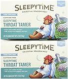 Celestial Seasonings Sleepytime Throat Tamer Tea Bags, 20 ct, 2 pk