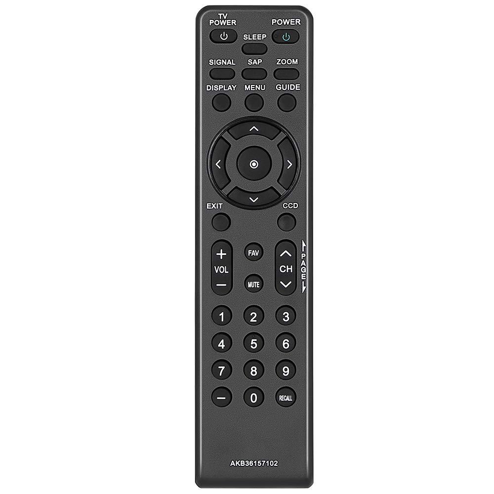 Gvirtue AKB36157102 - Mando a Distancia para LG Zenith TV Remote, Compatible con DTT900 DTT901 LSX300 LSX3004DM LSX3004PM: Amazon.es: Electrónica