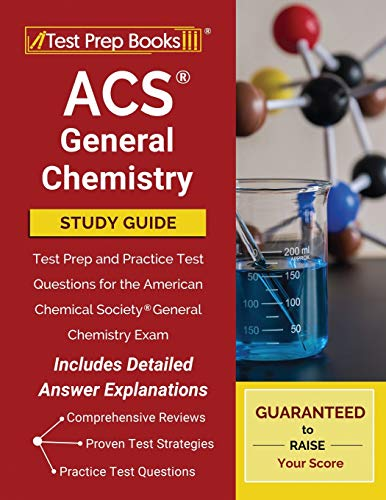 Compare Textbook Prices for ACS General Chemistry Study Guide: Test Prep and Practice Test Questions for the American Chemical Society General Chemistry Exam [Includes Detailed Answer Explanations]  ISBN 9781628459111 by Publishing, TPB