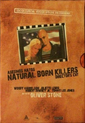 Asesinos natos Director's cut 2 dvd + poster
