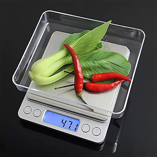 Electronic Digital Scale 0 1Gram Precision Balance Weight Pocket Scale 3000g Multifunction Kitchen product image