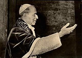 Papst Pius XII, in dankbarer Erinnerung Religious Original Vintage Postcard