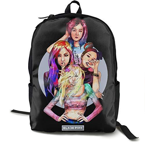 Blackpink Rucksack, Daypack Tagesrucksack Für Schule, Arbeit Und Uni, Sportrucksack Und Schultasche Mit Laptopfach Und Rückenpolster