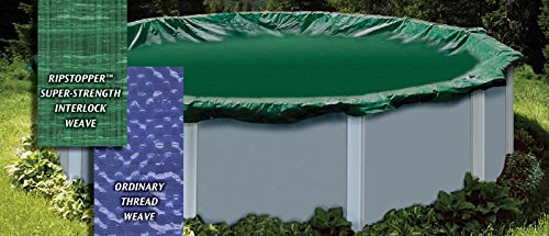 Arctic Armor Above Ground Swimming Pool Winter Cover - 15 Year Warranty - 33' Round