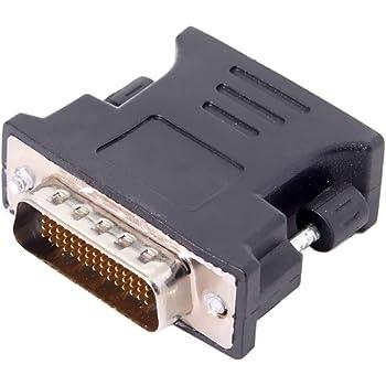 DVI D Digital Monitore PC 18+1 Polig M/ännlich Zum M/ännlich Kabel Anschlusskabel 0,5 m Vergoldeten