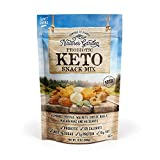 Nature's Garden Multi-Vitamins Probiotic Keto Trail Mix Dried Fruit -Tree Nuts (Almonds, Walnuts, Peanuts) Keto Cheese Balls & Heart-Healthy Delicious Nut Keto Trail Mix -Pack of 1, 18.60 OZ