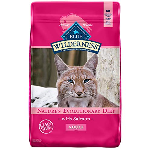 Blue Buffalo Wilderness Cat Food Salmon