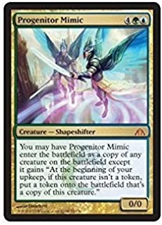 Magic: the Gathering - Progenitor Mimic - Dragons Maze by Magic: the Gathering: Amazon.es: Juguetes y juegos
