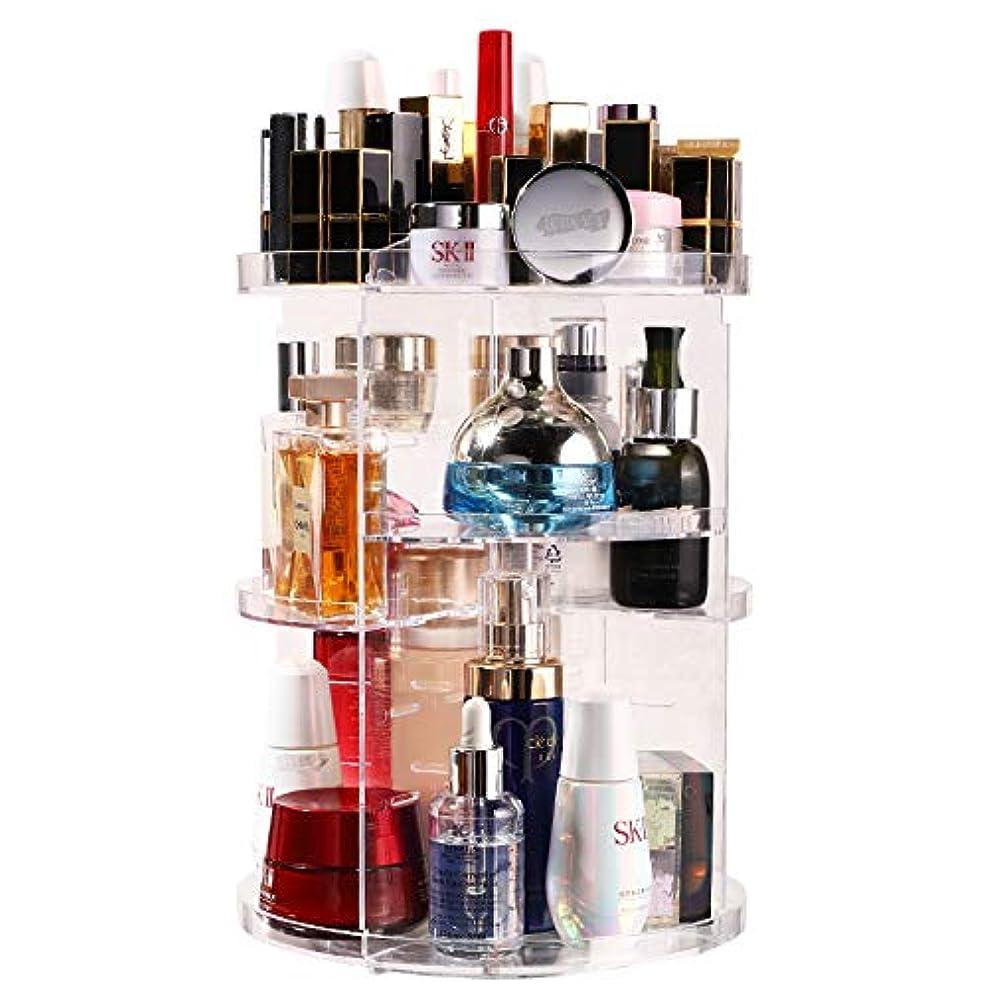 剛性プレゼンテーション問題メイクボックス コスメボックス 化粧品 収納ケース 大容量 化粧ボックス 使いやすい プロ用 たくさん入る メイク道具