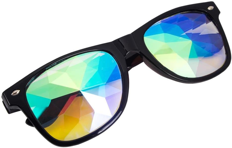 Premium Kaleidoscope Cosplay Chicago Mall Goggles Rave National products Diffraction Best Cryst