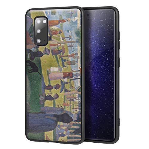 Berkin Arts Georges Seurat für Samsung Galaxy S20 Hülle/Kunst Handyhülle/Giclée UV Druck auf der Handyabdeckung(A Sonntag on La Grande Jatte)