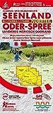 Seenland Oder-Spree Nordteil (Landkreis Märkisch Oderland): Fahrrad- und Erlebniskarte, Maßstab 1 : 75.000 / 1 : 175.000