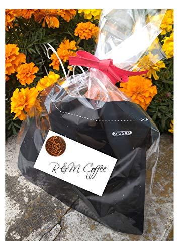 R&MCoffee コーヒー粉 キリマンジャロ&ブラジル 100g&100g