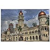 Dosow Gebäude Von Kuala Lumpur Malaysia Landschaftswand