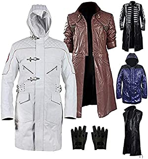 Devill May Cry 5 (DMC) 2019 Costume Real Leather Coat Collections
