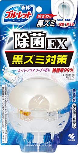 液体ブルーレットおくだけ除菌EX トイレタンク 芳香洗浄剤 本体 スーパーアクアソープの香り 70ml