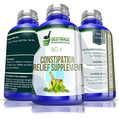 Natural Constipation Relief For Occasional Irregularity|Effective For Hard Stools &Amp; Bloating| No Cramping |Gentle Enough For The Whole Family|Supports Colon Function|May Help With Symptoms Of Ibs Bio4
