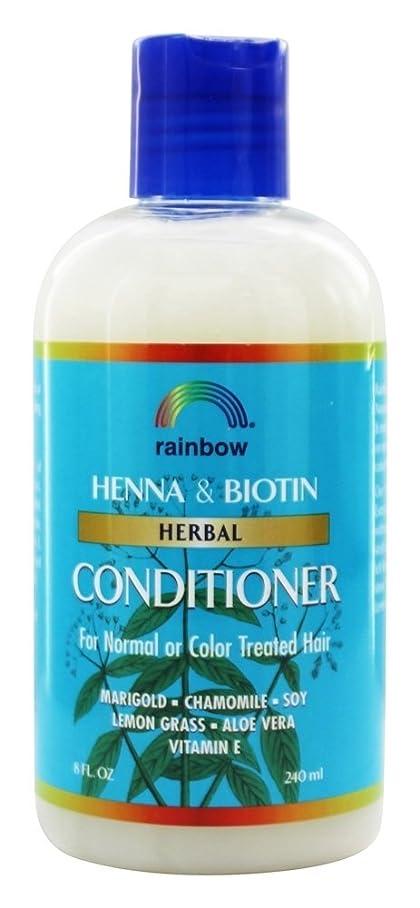 止まる式留め金Rainbow Research - 有機ハーブ ヘナ ビオチン コンディショナー - 8ポンド [並行輸入品]