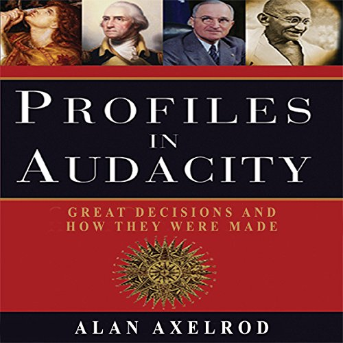 Profiles in Audacity audiobook cover art