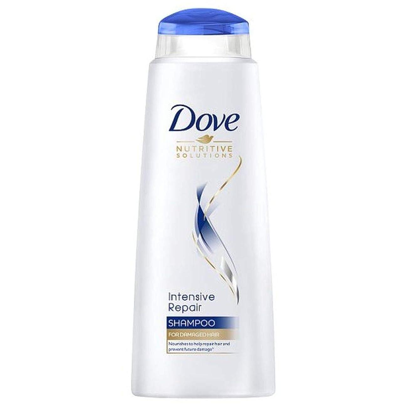 気付く賢明なインタビュー[Dove ] 鳩の集中リペアシャンプー400ミリリットル - Dove Intensive Repair Shampoo 400Ml [並行輸入品]